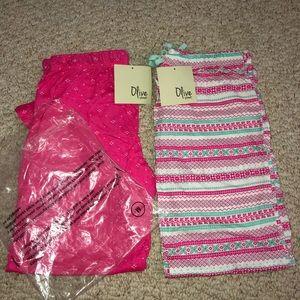 BRAND NEW bundle of Olive street pajama pants